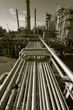 Oil industry scenery Stock Photography