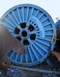 Oil industry scrap metal, Aberdeen, Scotland Royalty Free Stock Photo