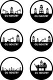 Oil industry vector illustration