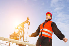Oil Industry Royalty Free Stock Photo