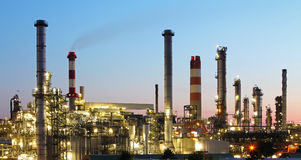 Oil indutry refinery - factory Stock Photo