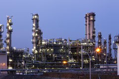 Oil indutry refinery - factory Royalty Free Stock Photography
