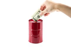 Oil Investment Royalty Free Stock Photos