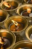 Oil lamp. Photo of spritual religous oil lamp vector illustration