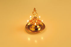 Oil lamp Stock Photography