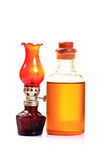 Oil and lamp Stock Photos