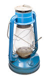 Oil lamp, blue color on a Stock Photos