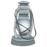 Oil Lamp Icon Royalty Free Stock Image