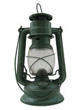 Oil lamp isolated Royalty Free Stock Image