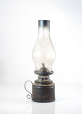 an oil lamp over a white background Royalty Free Stock Photo