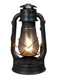 Oil Lamp (With CLipping Path{ Royalty Free Stock Images