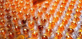 Oil lamps Royalty Free Stock Photos