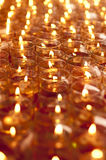 Oil lamps in shallow depth of field Royalty Free Stock Images