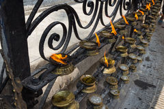 Oil lamps Stock Image