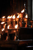 Oil lamps Royalty Free Stock Images