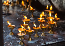 Oil lamps Stock Photo