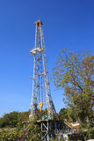 Oil Land Drilling Rig Royalty Free Stock Photos