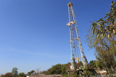 Oil Land Drilling Rig Royalty Free Stock Images