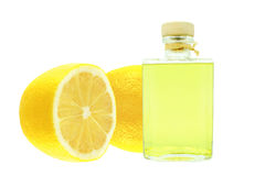 Oil of lemon Stock Images