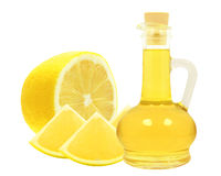 Oil of lemon Royalty Free Stock Images
