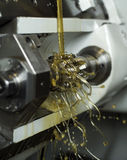Oil in machine Royalty Free Stock Photography
