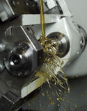 Oil in machine Stock Photos