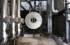 Oil manufacture Stock Photography