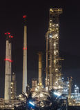 Oil manufacturing industry. Petroleum factory Royalty Free Stock Photography