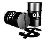 The Oil Market Stock Photography