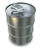 Oil Money Stock Image