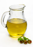 oil olivgrön Royaltyfria Foton