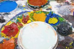 Oil paint 01 Royalty Free Stock Image