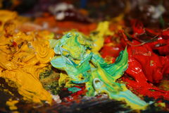 Oil paint Stock Images