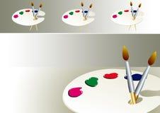 oil paint Stock Images