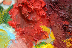 Oil paint Stock Photography