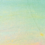 Oil Paint Background, Bright Ultramarine Blue, Yellow, Pink, Turquoise, Large Brush Strokes Painting Detailed Textured Pastel Stock Photo