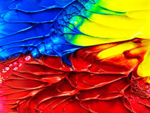 Oil paint colors Royalty Free Stock Images