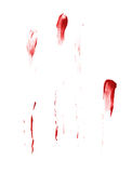 Oil paint stains isolated Royalty Free Stock Image