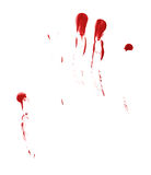 Oil paint stains isolated Stock Photography