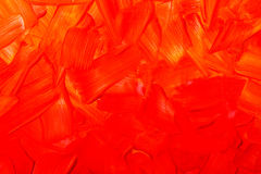 Oil paint texture, abstract red background stock images