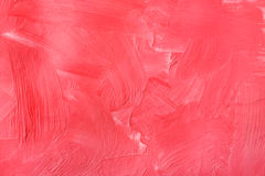 Oil paint texture, abstract red background royalty free stock photography