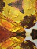 Oil paint texture background on palette Stock Photos