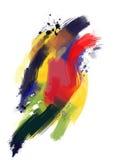 Oil paint textures - Stock Image Stock Photo