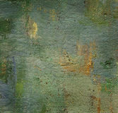 Oil painted canvas Royalty Free Stock Photography