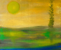 Oil Painting Royalty Free Stock Photo