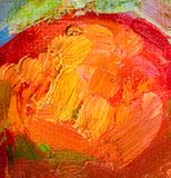Oil painting abstract brushstrokes Stock Photos