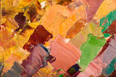 Oil painting abstract brushstrokes Stock Photography