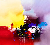 Oil Painting - Abstraction. Oil Painting of the abstraction stock illustration