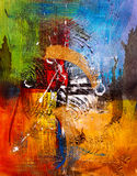 Oil Painting - Abstraction Royalty Free Stock Photography