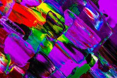 Oil painting abstraction, bright colors. Background. stock photos